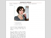 Amaranth Borsuk