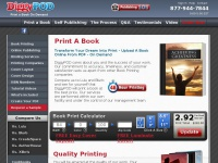Diggypod.com - Self-Publishing and Book Printing Company | DiggyPOD