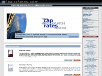 RealtyRates.com: Cap Rates, Commercial Real Estate, Capitalization Rates, Mortage Rates, Interest Rates, Market Data, Discount Rates, and News for Appraisers, Assessors, Brokers, Builders, Developers, Lenders, and Investors