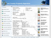 Leepa.org - Lee County Property Line