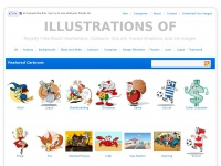 Illustrations Of | Cartoons, Clip Art, Vector Graphics, and 3d Images