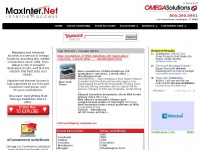 MaxInter.net Internet Access | A Service of Omega Solutions | Providing Technology Solutions