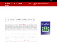 mcdonaldsjob.net