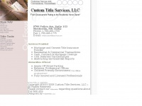 customtitleservices.com