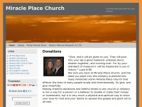 miracleplacechurch.net