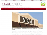 Home | Stage Stores Inc - Bealls, Goody's, Palais Royal, Peebles, Stage