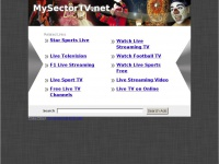Mysectortv.net - Mysectortv sports for free