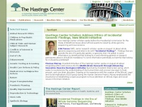 The Hastings Center - Bioethics and Public Policy