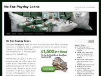 No-fax-paydayloans.net