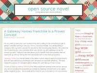 A blog about open source softwareopen source novel | A blog about open source software