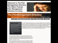 Painmanagementdirectory.net
