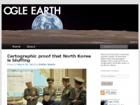 Ogleearth.com - Ogle Earth | Notes on the political, social and scientific impact of networked digital maps and geospatial imagery, with a special focus on Google Earth.