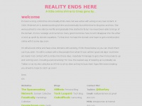 Reality-ends-here.net