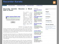 recorderkarate.net