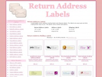 return-address-labels.net