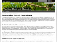thebestelectroniccigarette.org Thumbnail
