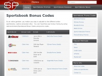Bonus Codes - Use These Sporstbook Promo Codes For A Bigger BonusSportsbook Promos