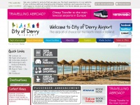 Derry Airport | The Airport of Choice for the North West of Ireland