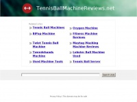 Tennisballmachinereviews.net