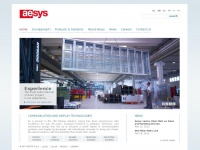 Aesys Variable Message Signs and Passenger Information Systems