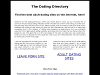 The Dating Directory - Online Dating Service