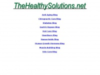 Thehealthysolutions.net