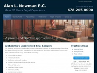 Thenewmanlawfirm.net
