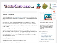 Toddlerbackpacks.net