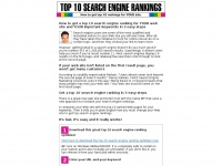Top-10-search-engine-ranking.net
