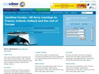SeaView Ferries - UK ferry crossings  to France, Ireland, Holland and the rest of  Europe  |  Seaview Ferries