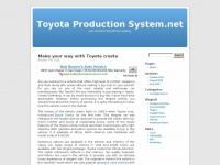 www.toyotaproductionsystem.net coming soon!