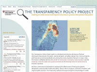 Transparencypolicy.net