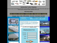 Trailer Transport | Trailer Shipping Company | 800-462-0038