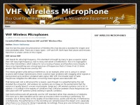 vhfwirelessmicrophone.net