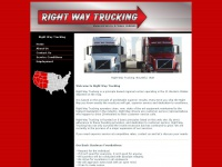 rightwaytrucking.com