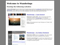 wanderings.net