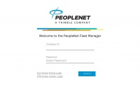 Pfmlogin.com - PEOPLENET Fleet Manager