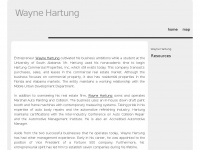 Waynehartung.net