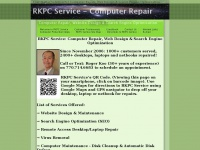 RKPC Service: Computer Repair, Web Design & SEO - Home