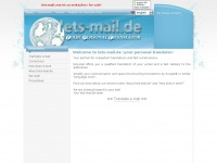 Welcome to lets-mail.de :your personal translator: