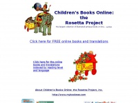 Children's Books Online: the Rosetta Project, Inc.