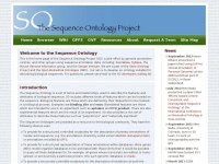 sequenceontology.org Thumbnail