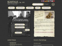 Kristallemineraux.com - Kristalle - Mineral Dealer USA - Minerals for Sale - Classic Mineral Specimens - Fine Mineral Specimens