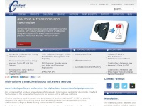 Print Stream Conversions, Document Re-engineering, Archive, Workflow   Crawford Technologies