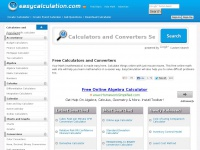 Easycalculation.com - Free Online Math Calculator and Converter