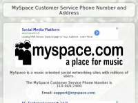 myspacecustomerservice.net