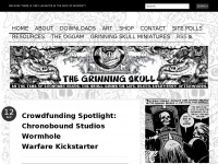 The Grinning Skull | Getting the last laugh, whatever the cost. Everybody afterwards.