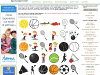 Sports Clip Art Pictures & Sports Clipart Images - Baseball, Basketball, Football, Golf, Soccer, Tennis ...