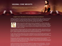 vaginalconeweights.com