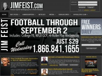 Jimfeist.com - NFL Pick: Football Picks: College Football Handicapping - Jim Feist